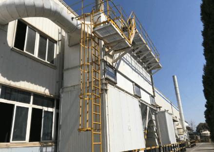 6000㎡厂房除尘除烟工程