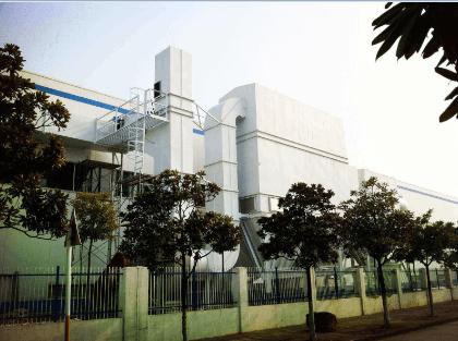 7000㎡厂房除尘除烟工程